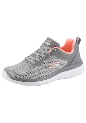 Skechers Sneaker »BOUNTIFUL - QUICK PATH«, mit gepolsterter Innensohle kaufen