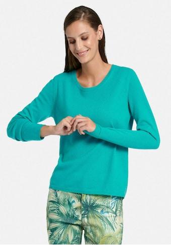 Peter Hahn Strickpullover »Rundhals-Pullover aus 100% Premium-Kaschmir«, Dekorative Naht kaufen