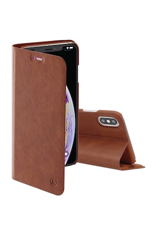 """Hama Booklet """"Guard Pro"""" für Apple iPhone Xs Max, Braun kaufen"""