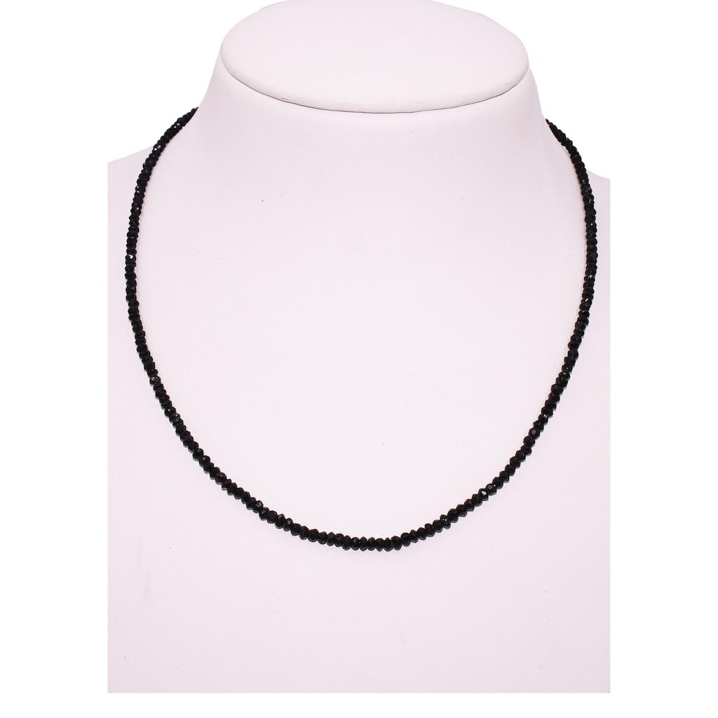 Firetti Collier »Steinkette, 3 mm breit«, mit Spinell, Made in Germany