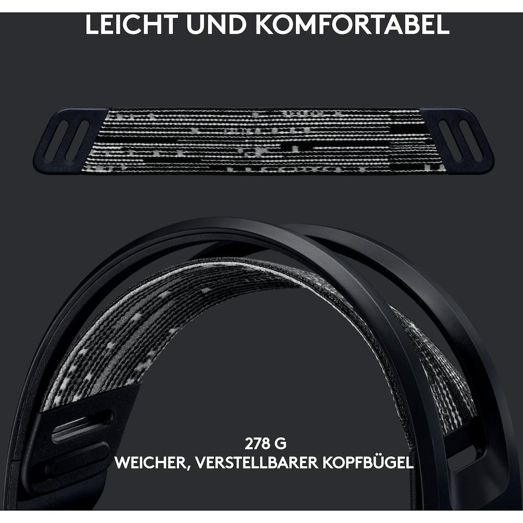 Logitech G Gaming-Headset »G733 LIGHTSPEED Wireless RGB«, WLAN (WiFi), Mikrofon abnehmbar