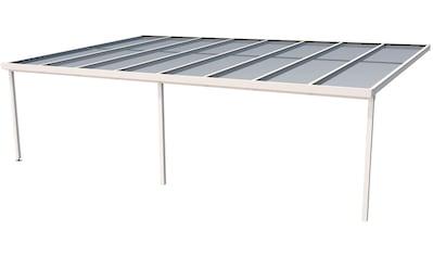 GUTTA Terrassendach »Premium«, BxT: 813x506 cm, Dach Polycarbonat bronce kaufen