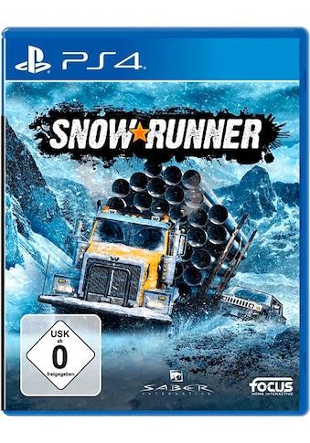 SnowRunner: Standard Edition PlayStation 4 kaufen