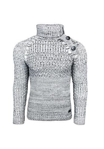 Rusty Neal Rollkragenpullover im Casual-Look kaufen
