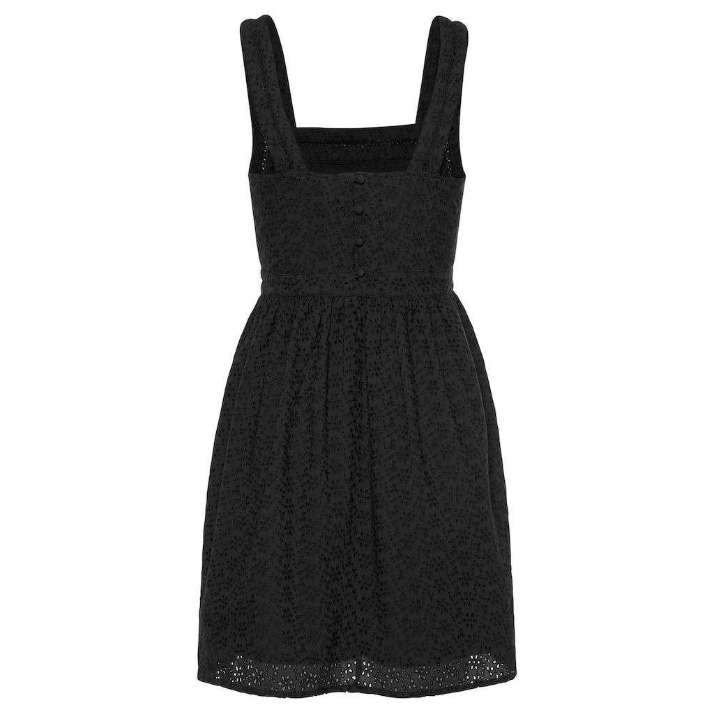 Superdry Spitzenkleid »BLAIRE BRODERIE DRESS«, aus Allover Lochstickerei