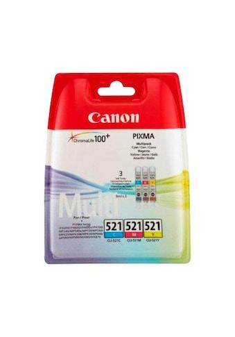 Canon Tintenpatrone »CLI-521 C/M/Y Multipack« kaufen