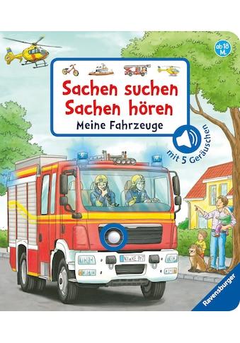 Buch Sachen suchen, Sachen hören: Meine Fahrzeuge / Frauke Nahrgang, Niklas Böwer kaufen