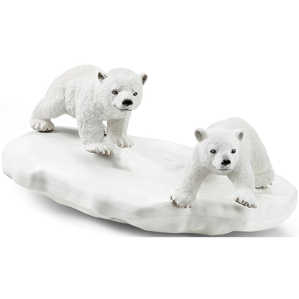 Schleich® Spielfigur »Wild Life, Eisbären-Rutschpartie (42531)«, Made in Europe