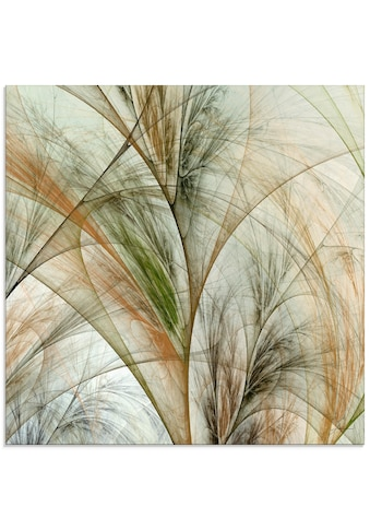 Artland Glasbild »Fraktales Gras IV«, Gräser, (1 St.) kaufen