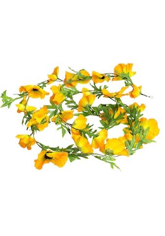 Botanic-Haus Kunstblume »Mohnblumen Girlande« kaufen