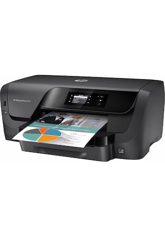 HP Tintenstrahldrucker »OfficeJet Pro 8210« kaufen