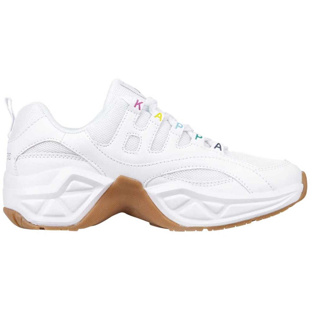 Kappa Plateausneaker »OVERTON«, in coolem Ugly-Style