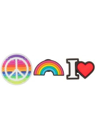 Crocs Schuhanstecker »Jibbitz™ Fell The Love«, Peace Jibbitz™ zum anstecken kaufen