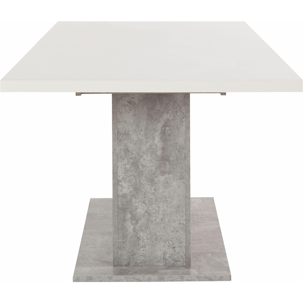 FORTE Esstisch, Breite 160-200 cm