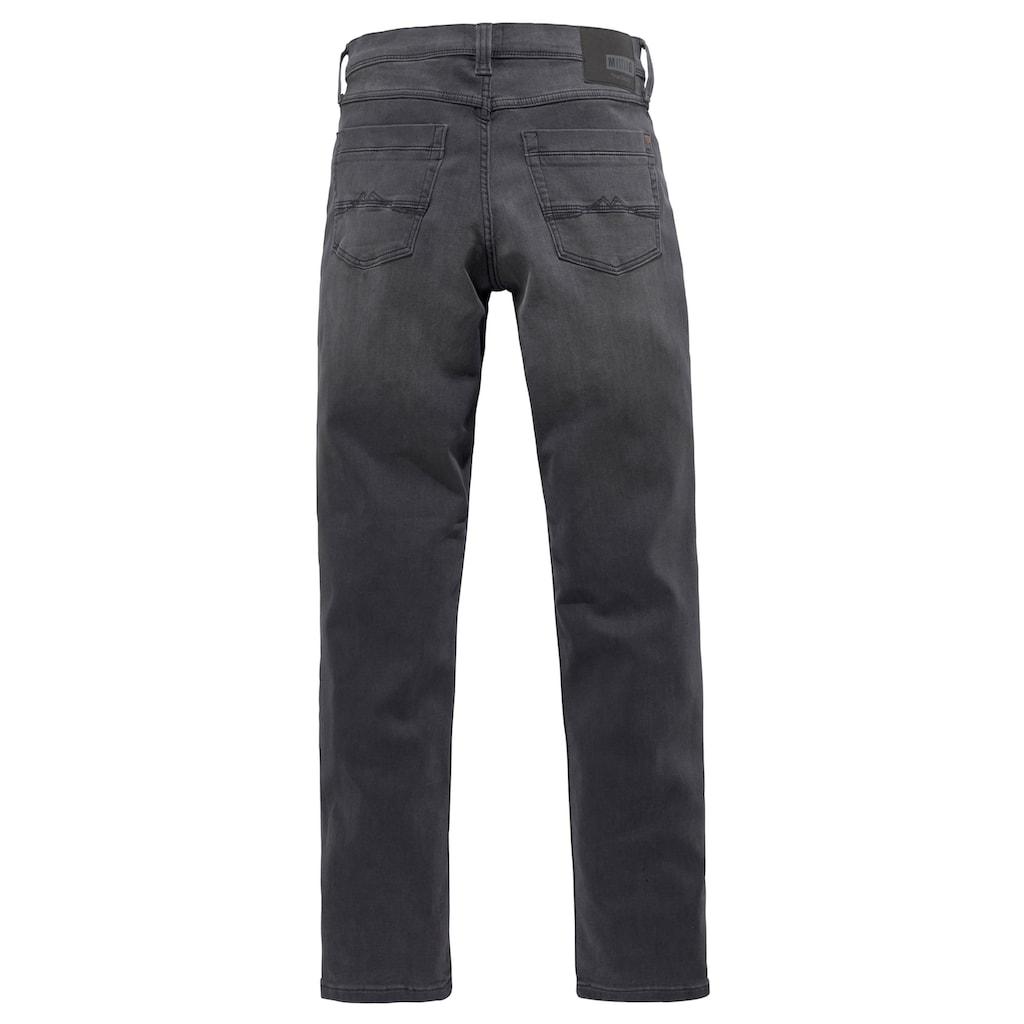 MUSTANG 5-Pocket-Jeans »WASHINGTON«, mit Abriebeffekten