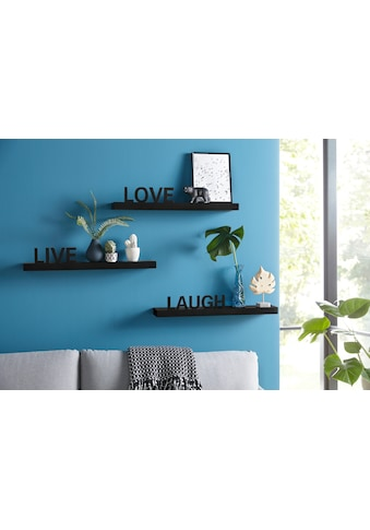 "Home affaire Wandregal ""Live  -  Love  -  Laugh"" (Set 3 Teile 3 - tlg. Set) kaufen"