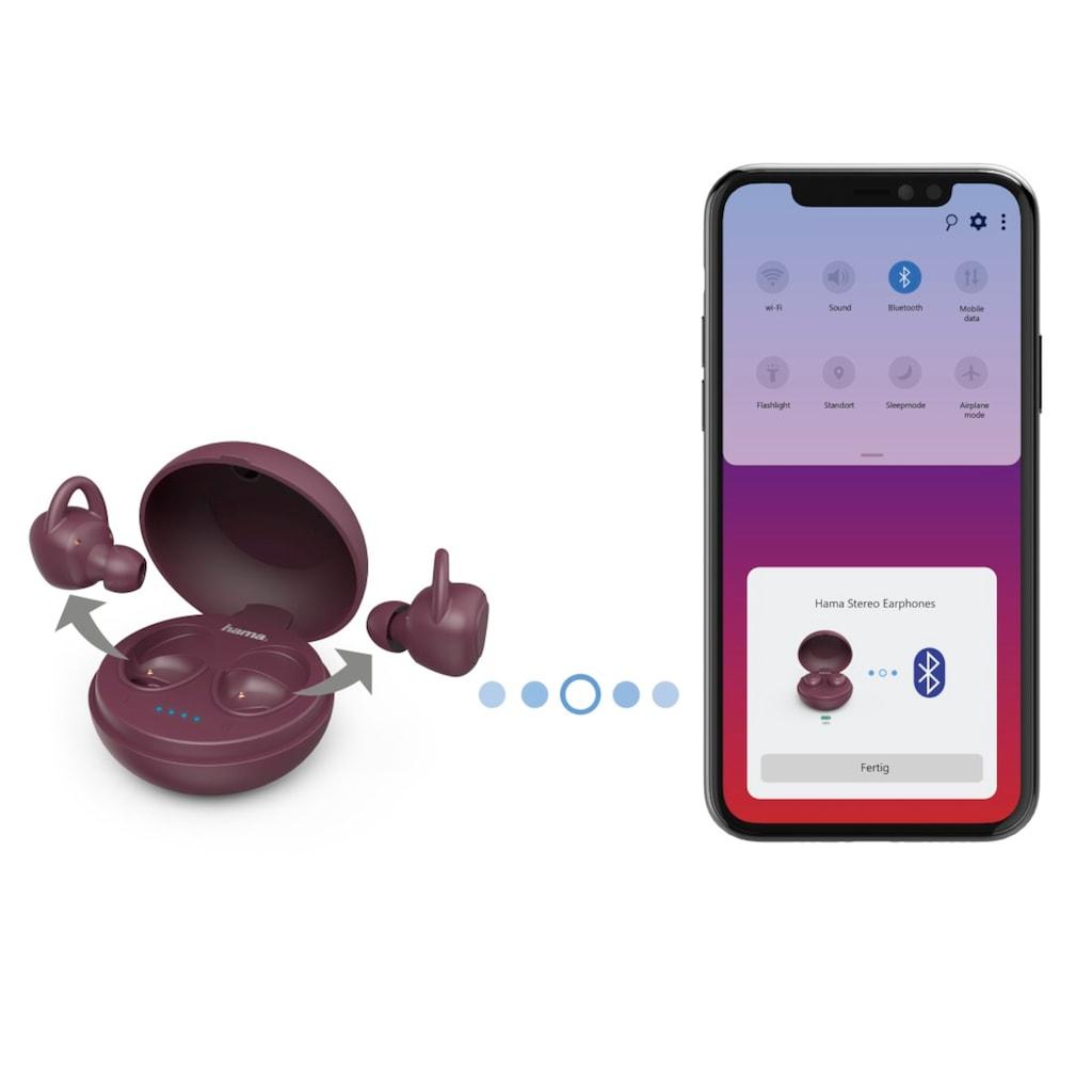 Hama Sport-Kopfhörer, Bluetooth, In-Ear-Ohrhörer, Sprachsteurung