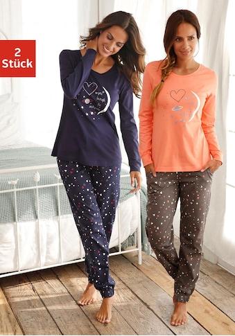 Vivance Dreams Pyjama (2 Stück) kaufen