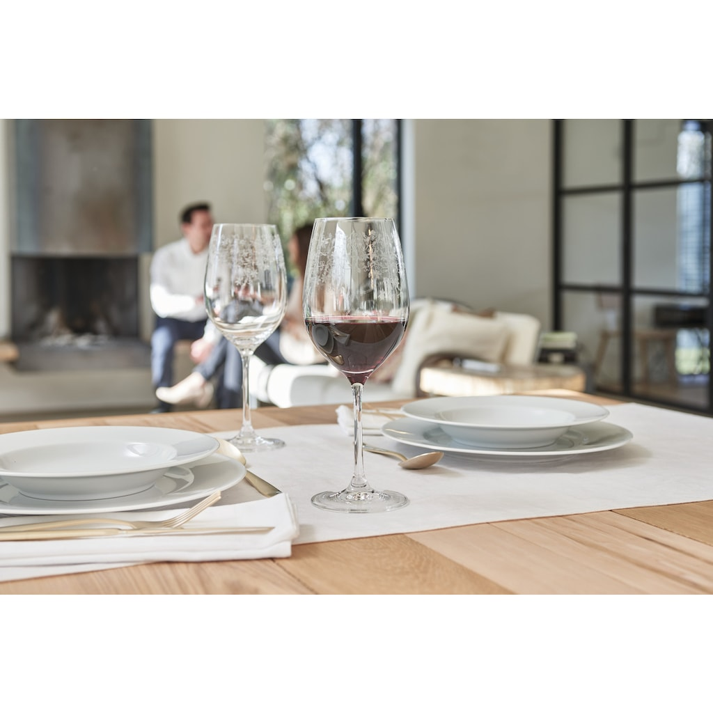 LEONARDO Weinglas »Chateau«, (Set, 6 tlg.), 600 ml, Teqton-Qualität, 6-teilig