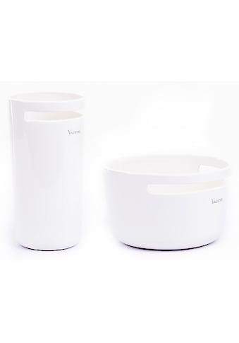 VALENTINO Wohnideen Tischvase »Amadora« (Set, 2 Stück, bestehend aus 1x Vase, 1x Pflanzschale) kaufen