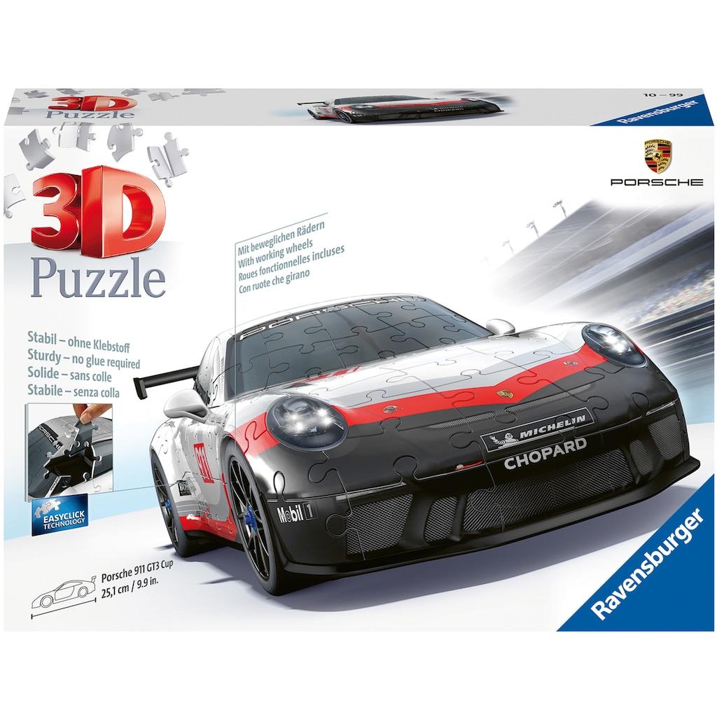 Ravensburger 3D-Puzzle »Porsche GT3 Cup«, Made in Europe, FSC® - schützt Wald - weltweit
