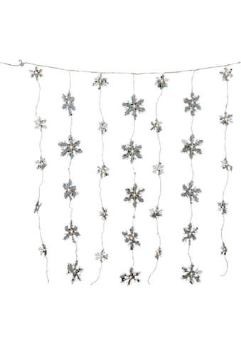 LED - Lichterkette »Schneeflocken  -  Eiskristalle«, 70  - flammig kaufen