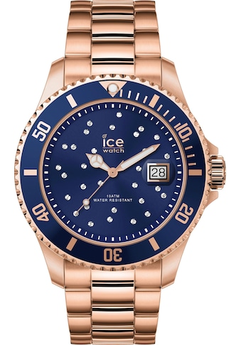 ice-watch Quarzuhr »ICE steel - Blue Cosmos Rosegold - Medium - 3H, 16774« kaufen