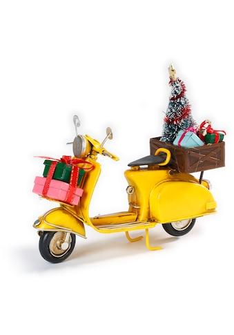 CHRISTMAS GOODS by Inge Dekoobjekt »Weihnachtsroller«, Höhe ca. 15,5 cm kaufen