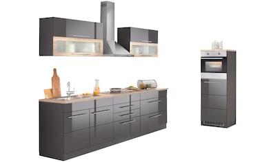 HELD MÖBEL Küchenzeile »Wien«, mit E - Geräten, Breite 340 cm, wahlweise mit Induktion kaufen