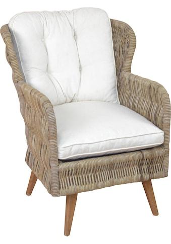 Home affaire Sessel, Handgeflochten kaufen