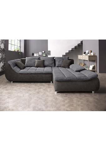 my home Ecksofa »Liliana«, wahlweise mit Bettfunktion kaufen