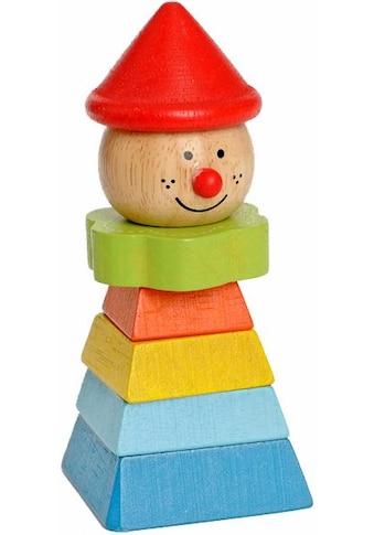 EverEarth® Stapelspielzeug »Clown mit rotem Hut«, FSC®-Holz aus gewissenhaft... kaufen