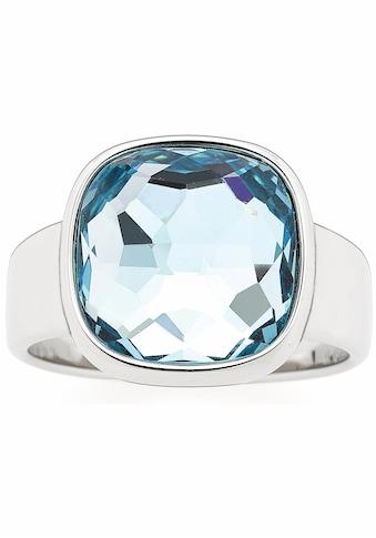 LEONARDO Fingerring »Cuscino, 016574, 016575, 016577«, mit Glasstein kaufen