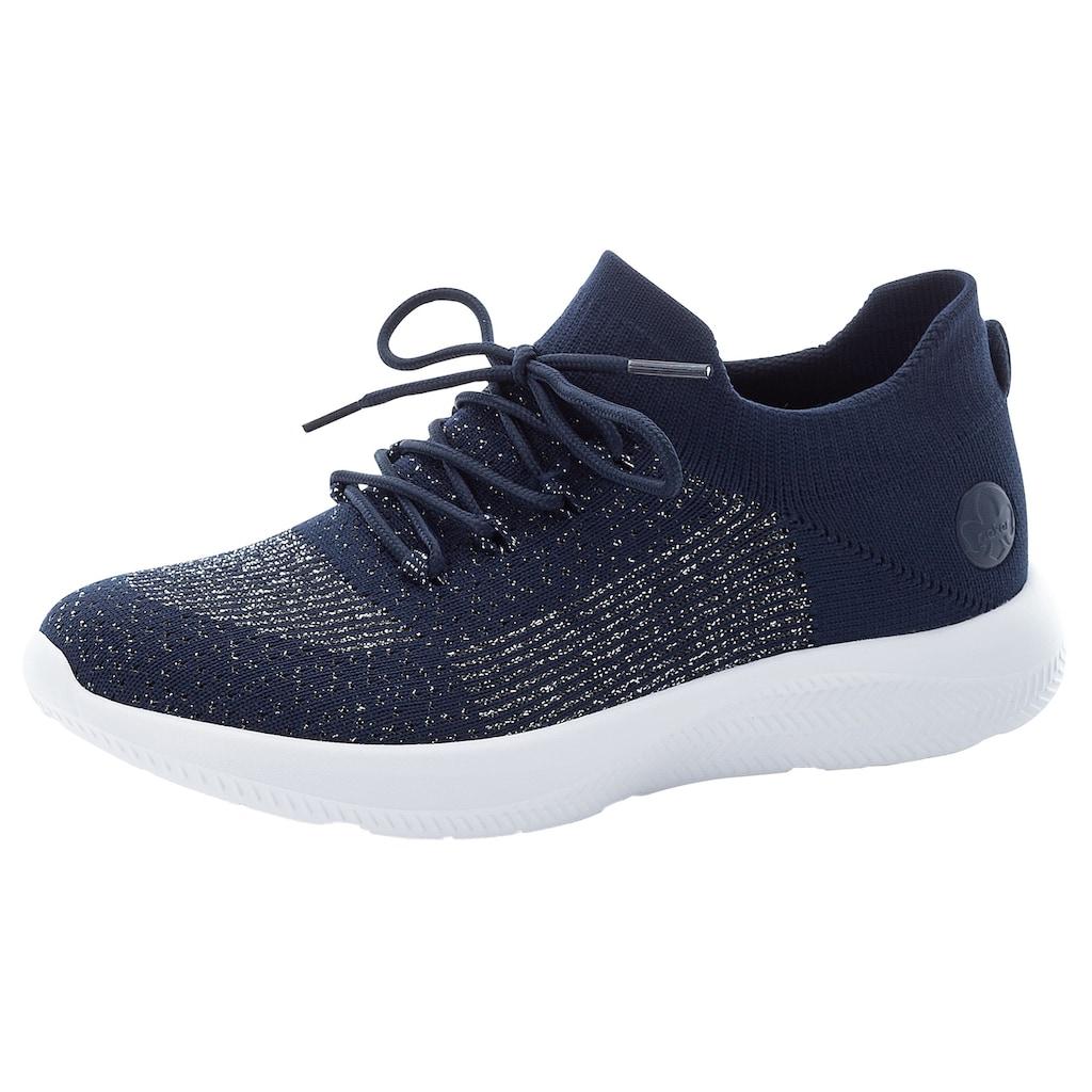 Rieker Slip-On Sneaker, in Strickoptik