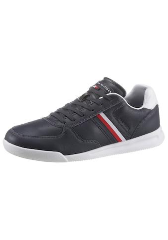Tommy Hilfiger Sneaker »LIGHTWEIGHT LEATHER SENAKER FLAG«, mit Kontrastbesatz an der... kaufen