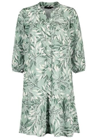 SUBLEVEL A-Linien-Kleid, mit Blätterprint kaufen