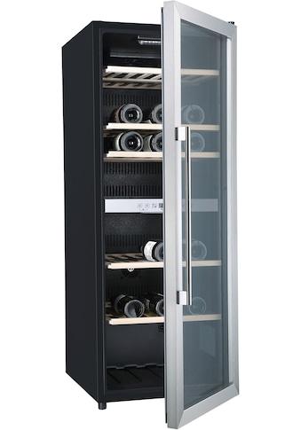 Hanseatic Weinkühlschrank 41677525 JC - 201S mit 2 regelbaren Temperaturzonen, für 77 Standardflaschen á 0,75l kaufen
