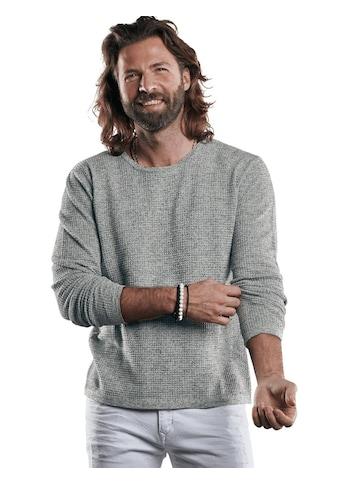 emilio adani Modischer Strickpullover mit besonderer Strukturoberfläche kaufen