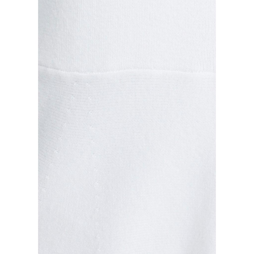 Esprit Collection Strickjacke, mit Schößchen Saum