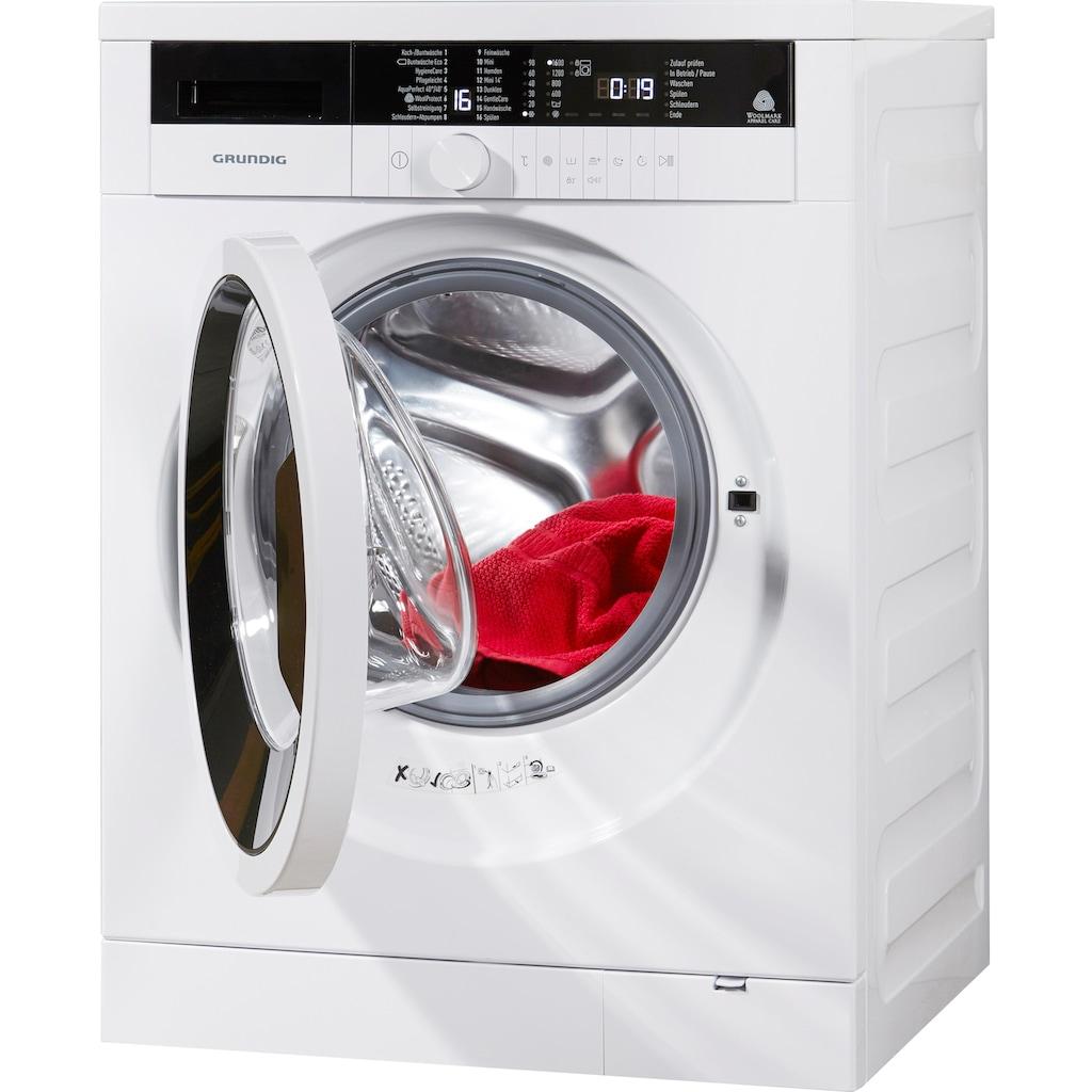 Grundig Waschmaschine GWN37631