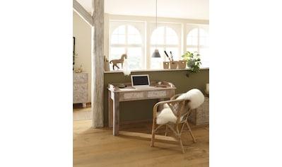Home affaire Schreibtisch »Lavin«, aus massiven, pflegeleichten Mangoholz, mit... kaufen