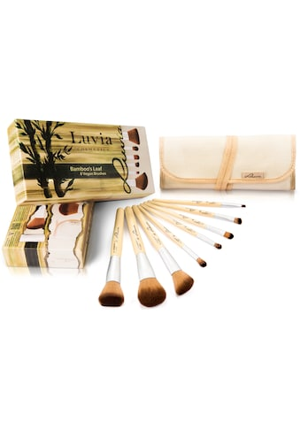 Luvia Cosmetics Kosmetikpinsel-Set »Bamboo's Leaf«, (8 tlg., mit Aufbewahrungstasche),... kaufen