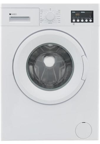 NABO Waschmaschine, WM 1221, 6 kg, 1200 U/min kaufen
