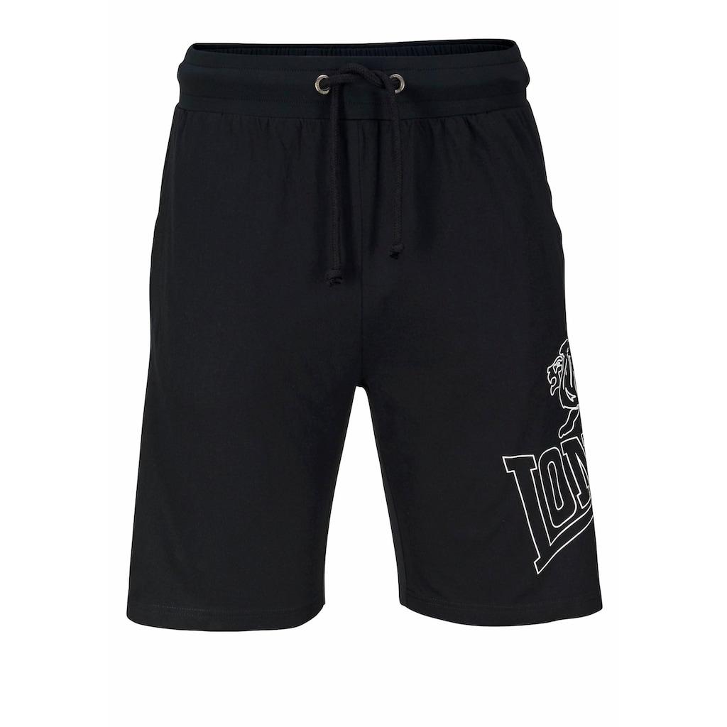 Lonsdale Jogginghose, Set: Jogginghose und Shorts