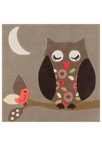Arte Espina Kinderteppich »Joy 4190«, quadratisch, 11 mm Höhe, harmonisches Eulen... kaufen