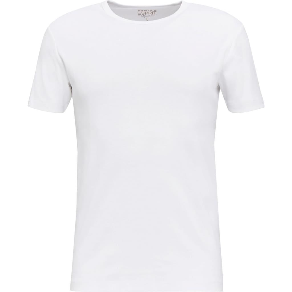 Esprit T-Shirt, unifarben