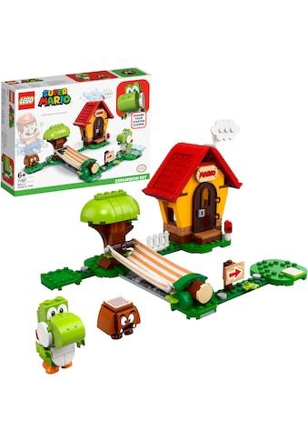 """LEGO® Konstruktionsspielsteine """"Marios Haus und Yoshi – Erweiterungsset (71367), LEGO® Super Mario"""", (205 - tlg.) kaufen"""