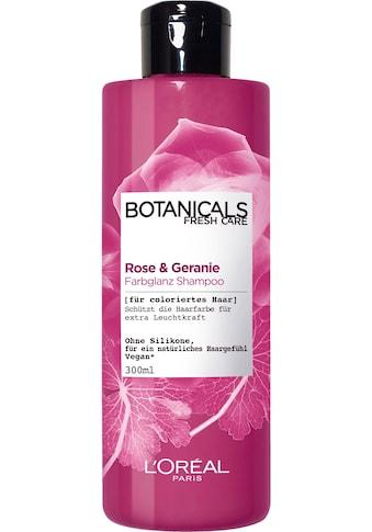 """BOTANICALS Haarshampoo """"Rose und Geranie"""" kaufen"""