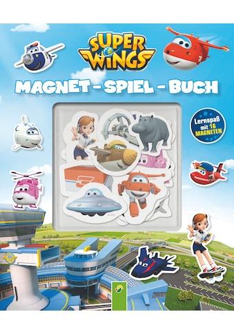 Buch »Super Wings Magnet-Spiel-Buch / DIVERSE« kaufen