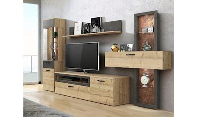 FORTE Wohnwand »KALOMIRA« (Set, 4 - tlg) kaufen